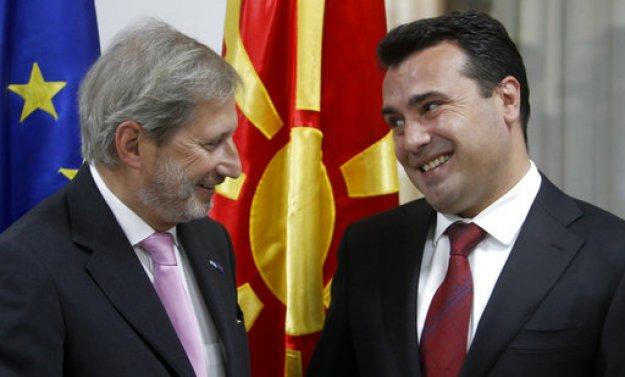 """Γιοχάνες Χαν: """"Kάθε ψήφος μετρά στο δημοψήφισμα στην πΓΔΜ"""""""