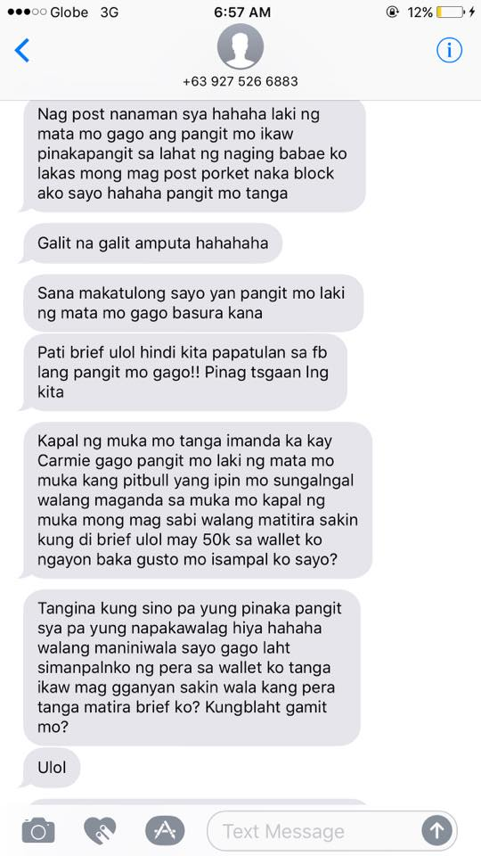 'User ka! Manggagamit!'- Young Filipina Exposes All The Alleged Dirty Secrets Of Her Cheater Ex-Boyfriend!