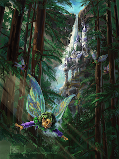 fantasy art by Traci Van Wagoner