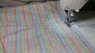 Making the quilt back