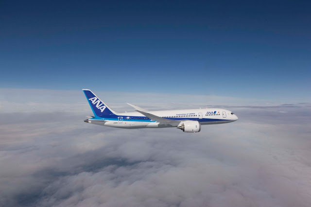 All Nippon Airways flights to New York and Chicago from Tokyo Japan