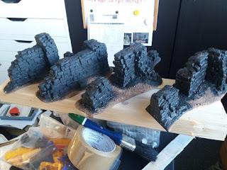 Paint it Black-Grey – WIP Brickwork