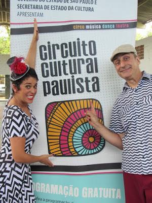 """ESCOLA DE PEDRO BARROS RECEBE O """"ZIG & ZAG SHOW"""" NO CIRTUITO CULTURAL PAULISTA"""