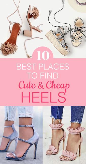 Top 10 Cheap high heels in Amazon