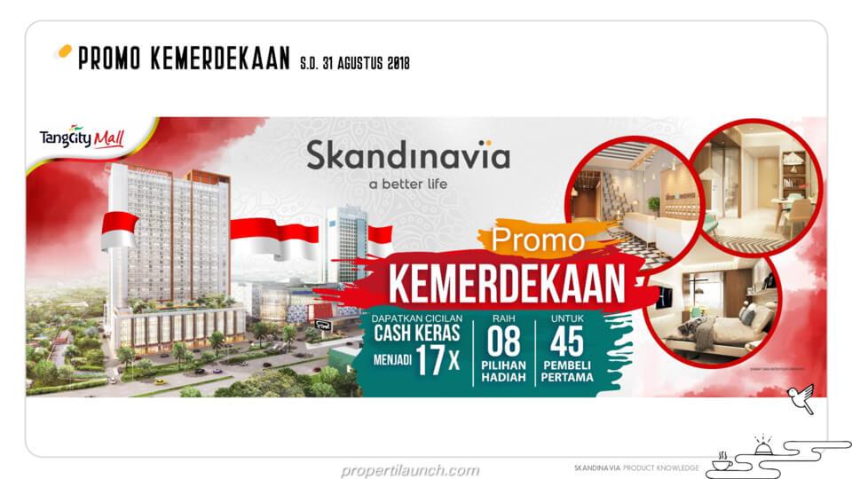 Promo Merdeka Apartemen Skandinavia