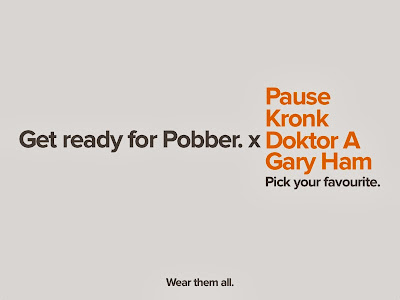 Coming Soon: Pobber Artist Series T-Shirt Collection - Pause, Kronk, Doktor A & Gary Ham