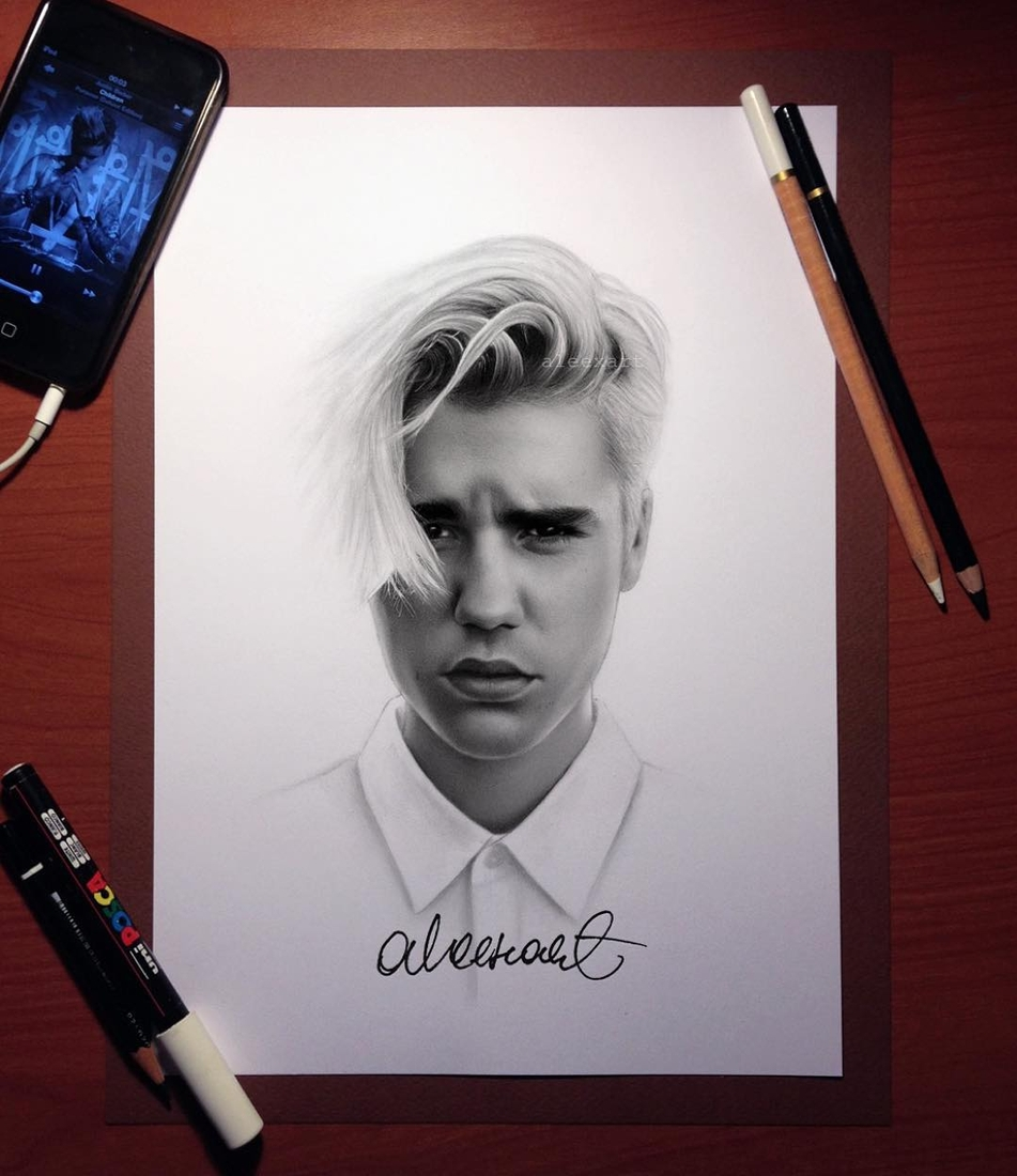 10-Justin-Bieber-Alex-Manole-Black-and-White-Hyper-Realistic-Portraits-of-Celebrities-www-designstack-co