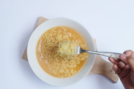 Nyicip Paldo Cheese Ramyun Korea