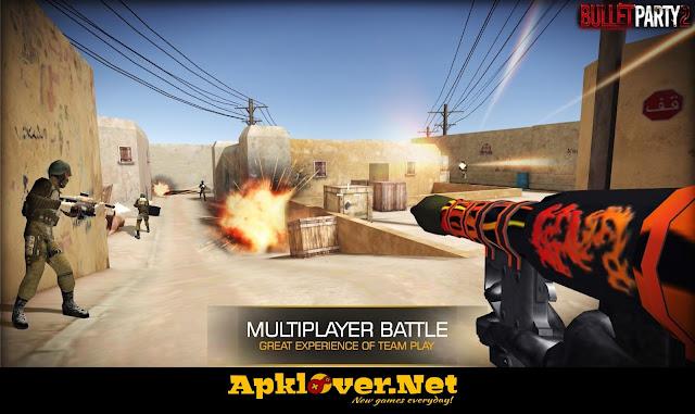Bullet Party CS 2 MOD APK unlimited money + ammo + premium