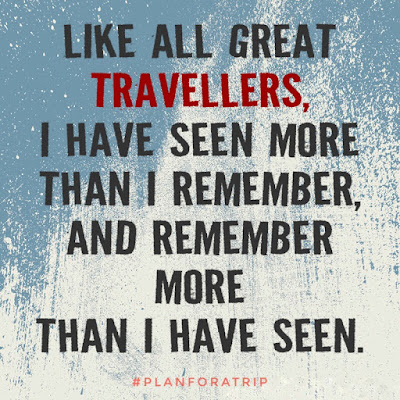 Travel Quote by Benjamin