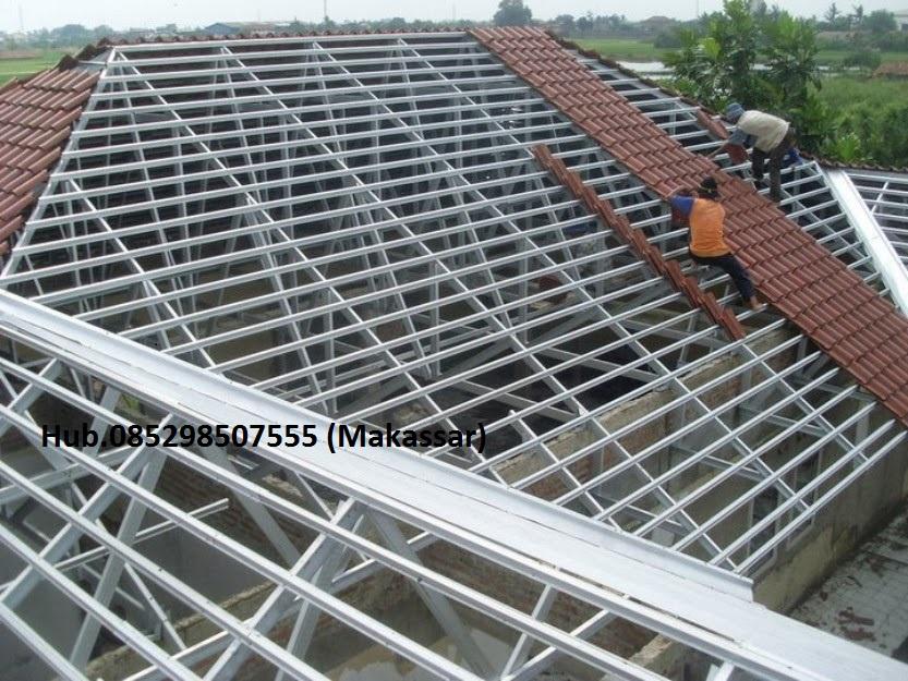 supplier baja ringan di makassar ringan,atap maxi,gutta,spandek,screw,hollow ...