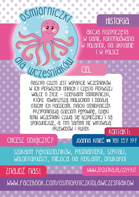 Ośmiorniczki dla wcześniaków / Octopuses for premature babies