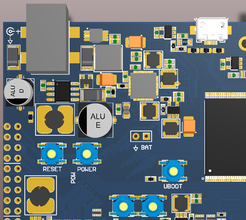 Embedded Engineering : Homemade ARM Board Running Linux with LCD ...