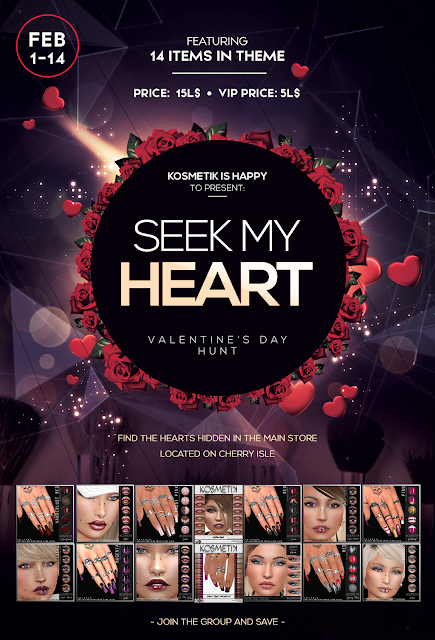 .kosmetik Presents: Seek My Heart Hunt