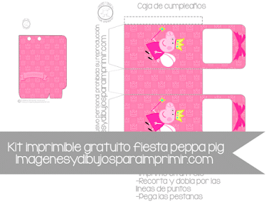 Cajas de cumpleaños peppa pig