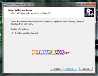 Cara instal Telegram di PC