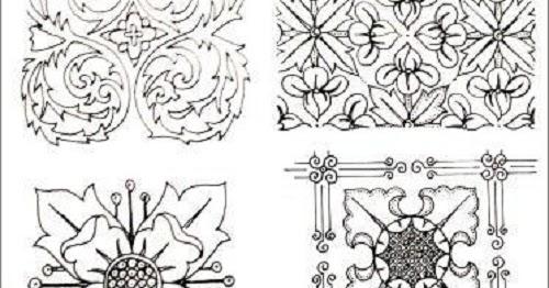 Pengertian Ragam Hias Dan Jenis Jenis Ragam Hias Nusantara Seni
