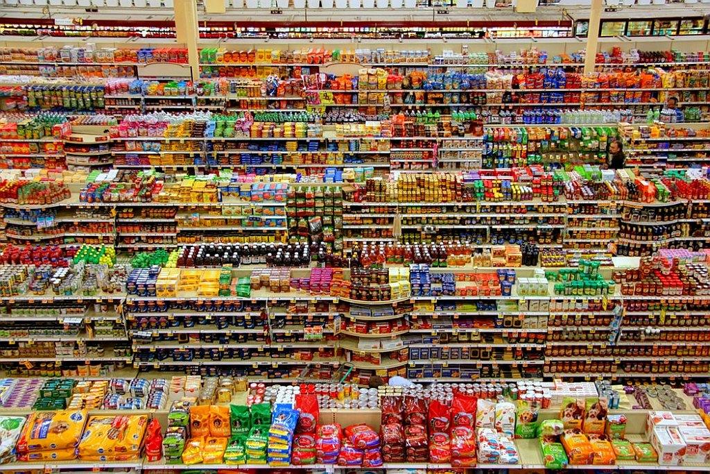 interim in supermarkt
