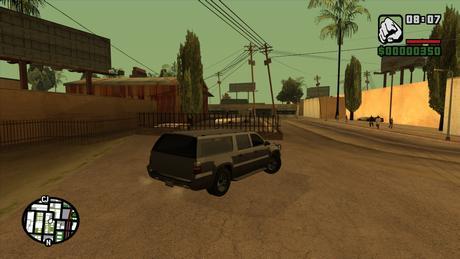 GTA SA PC Gameplay Screenshot