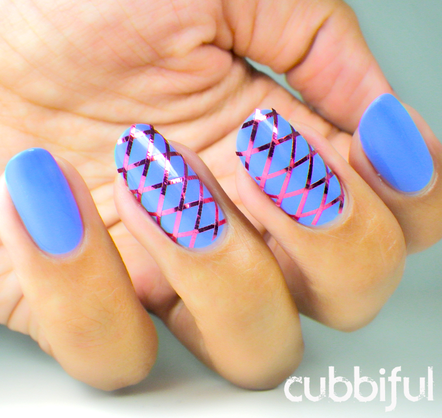 31DC2014 geometric nails