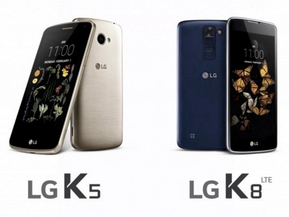LG K5 dan LG K8 Teknologi 2,5 Arc Glass Terbaru 2016