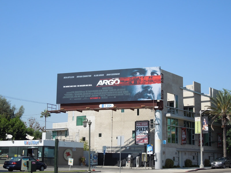 Argo film billboard