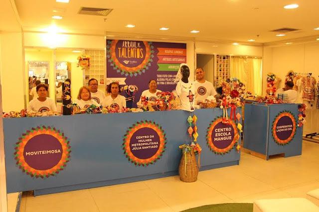 Feria de produtos para são joão no RioMar Recife