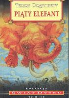 """Piąty elefant"" - Terry Pratchett"