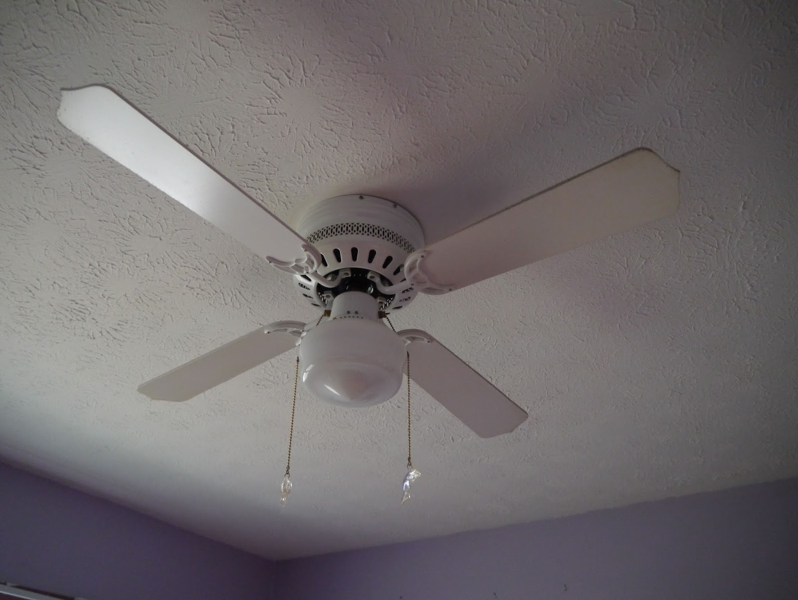 I Can Totally Do That Zebra Striped Ceiling Fan