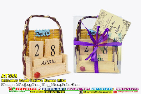 Kalender Abadi Nature Kemas Mika
