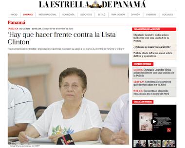 La CGTP se pronuncia en torno a la situación que viven los Diarios La Estrella de Panamá y El Siglo.