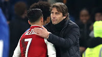 CONTE SAYED HE WON'T 'WASTE WORDS' ON ALEXIS