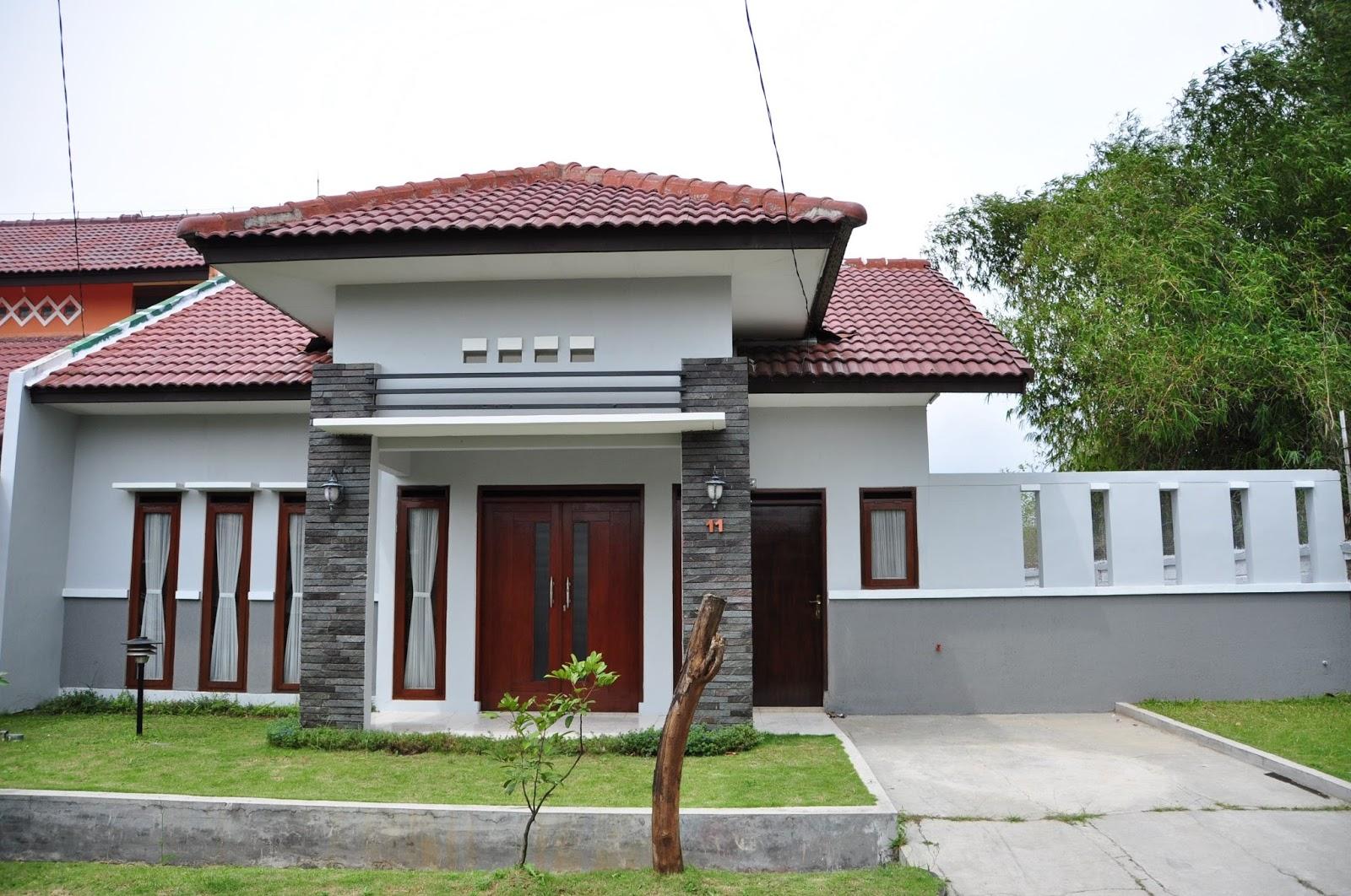 54 Desain Rumah Sederhana Di Kampung Yang Terlihat Cantik Dan