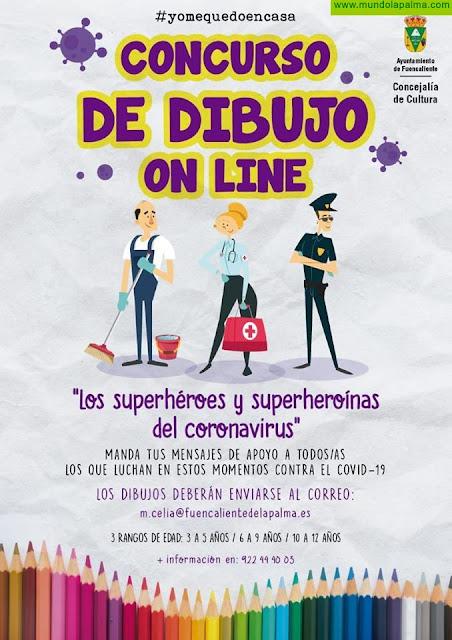 Fuencaliente organiza un concurso de dibujo para niños