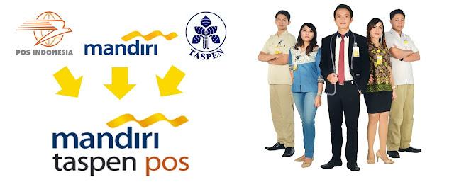 Lowongan Kerja BUMN Terbaru 2018 PT Bank Mandiri Taspen Pos