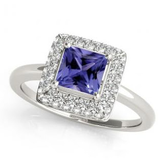 Princess Tanzanite Ring