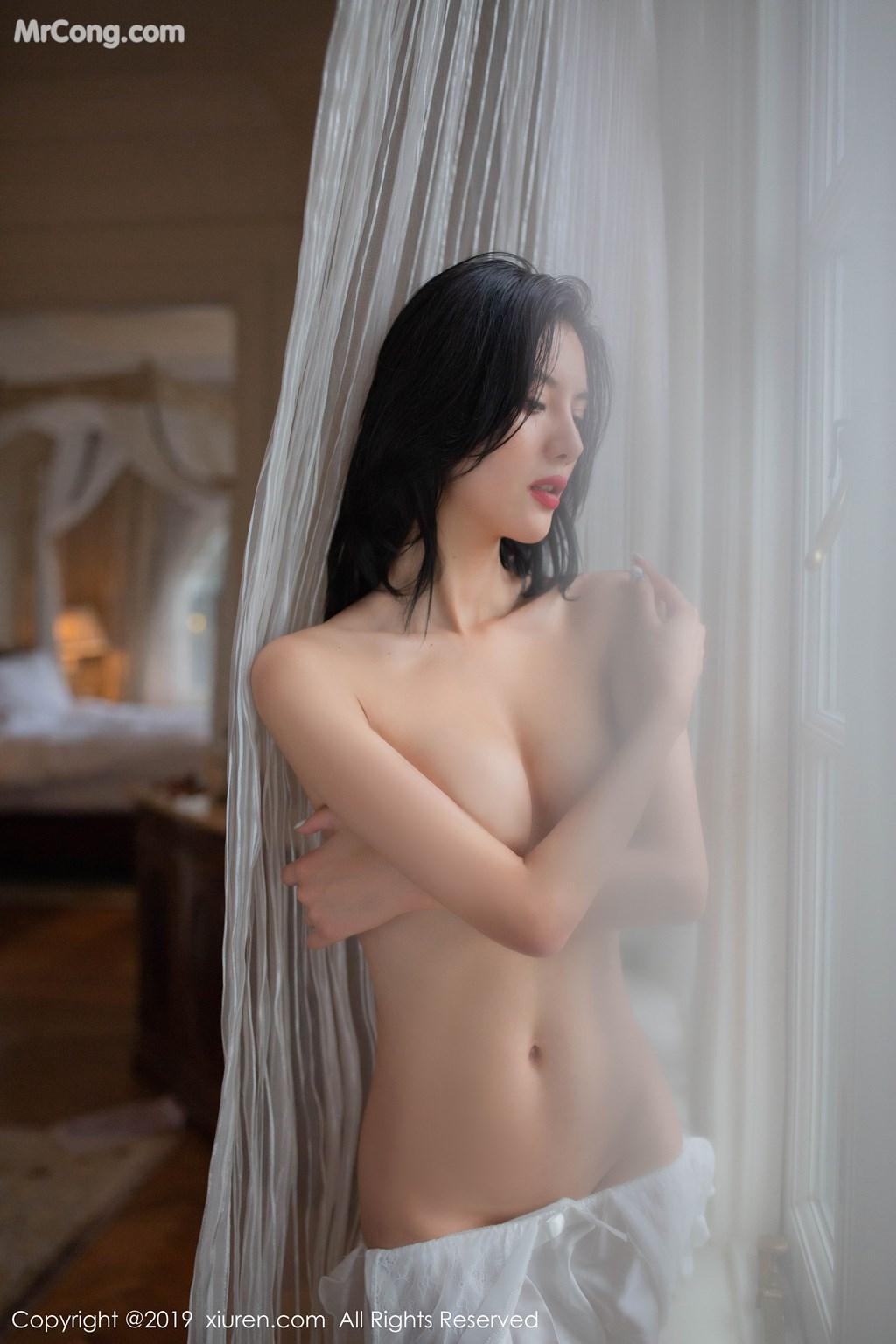 Image XIUREN-No.1624-Jiu-Shi-A-Zhu-A-MrCong.com-038 in post XIUREN No.1624: Jiu Shi A Zhu A (就是阿朱啊) (69 ảnh)