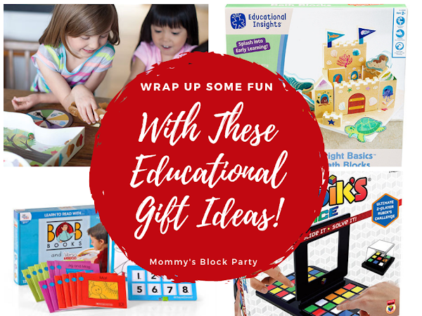 Wrap Up Some Fun this Holiday Season with These Educational Gift Ideas! #MBPHGG18