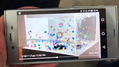 Función SuperSlowMo Sony XperiaXZ