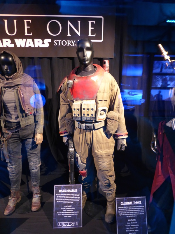 Jiang Wen Rogue One Baze Malbus movie costume