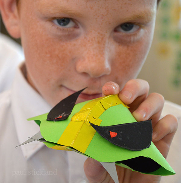 pop up paper bugs, paul stickland, pop up books,