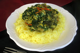 Creamy Spinach with Mung Beans