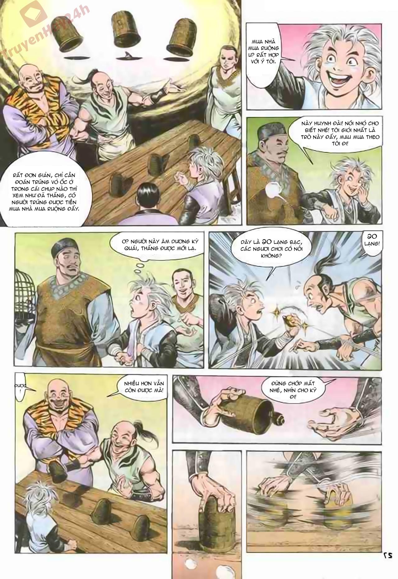 Cơ Phát Khai Chu Bản chapter 71 trang 27