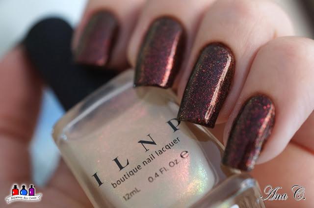 colors by llarowe, mocha grande, marrom holográfico, ilnp, scarlet