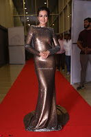 Actress Catherine Tresa in Golden Skin Tight Backless Gown at Gautam Nanda music launchi ~ Exclusive Celebrities Galleries 022.JPG