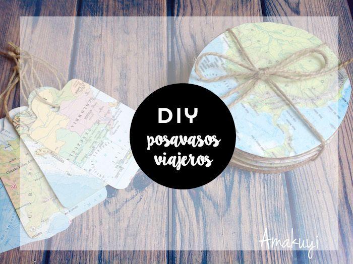 DIY Posavasos Viajeros