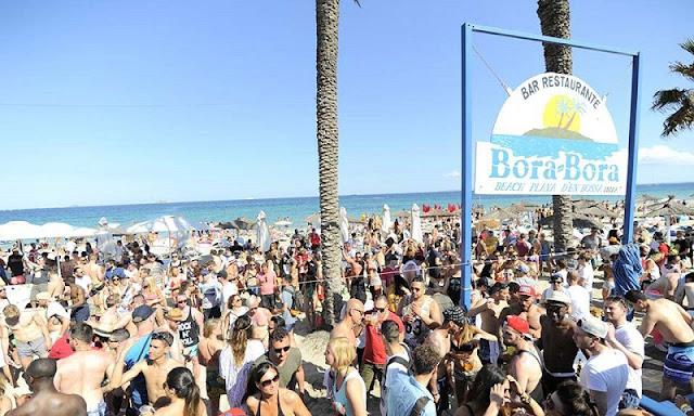 Bora Bora Beach Club em Ibiza