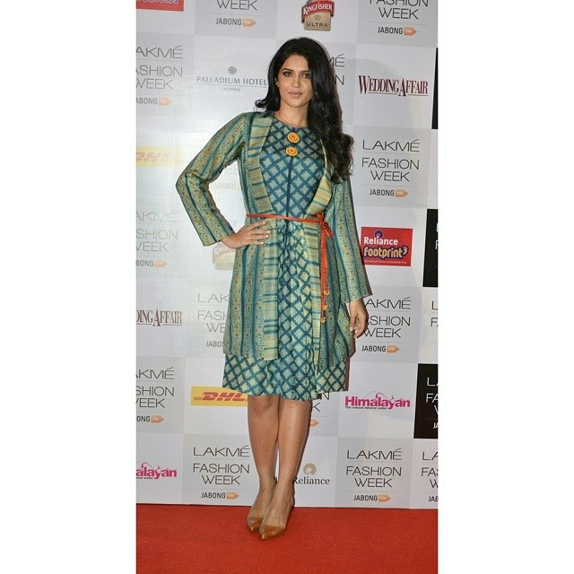 first look of our aw14 collection at lakme fashion week , with gorgeous deeksha seth , at palladium mumbai ,, Deeksha Seth Latest Hot Pics