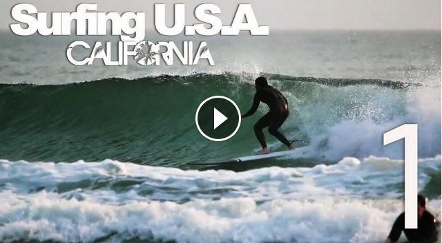 Surfing USA CALIFORNIA Part 1 - LuzuVlogs