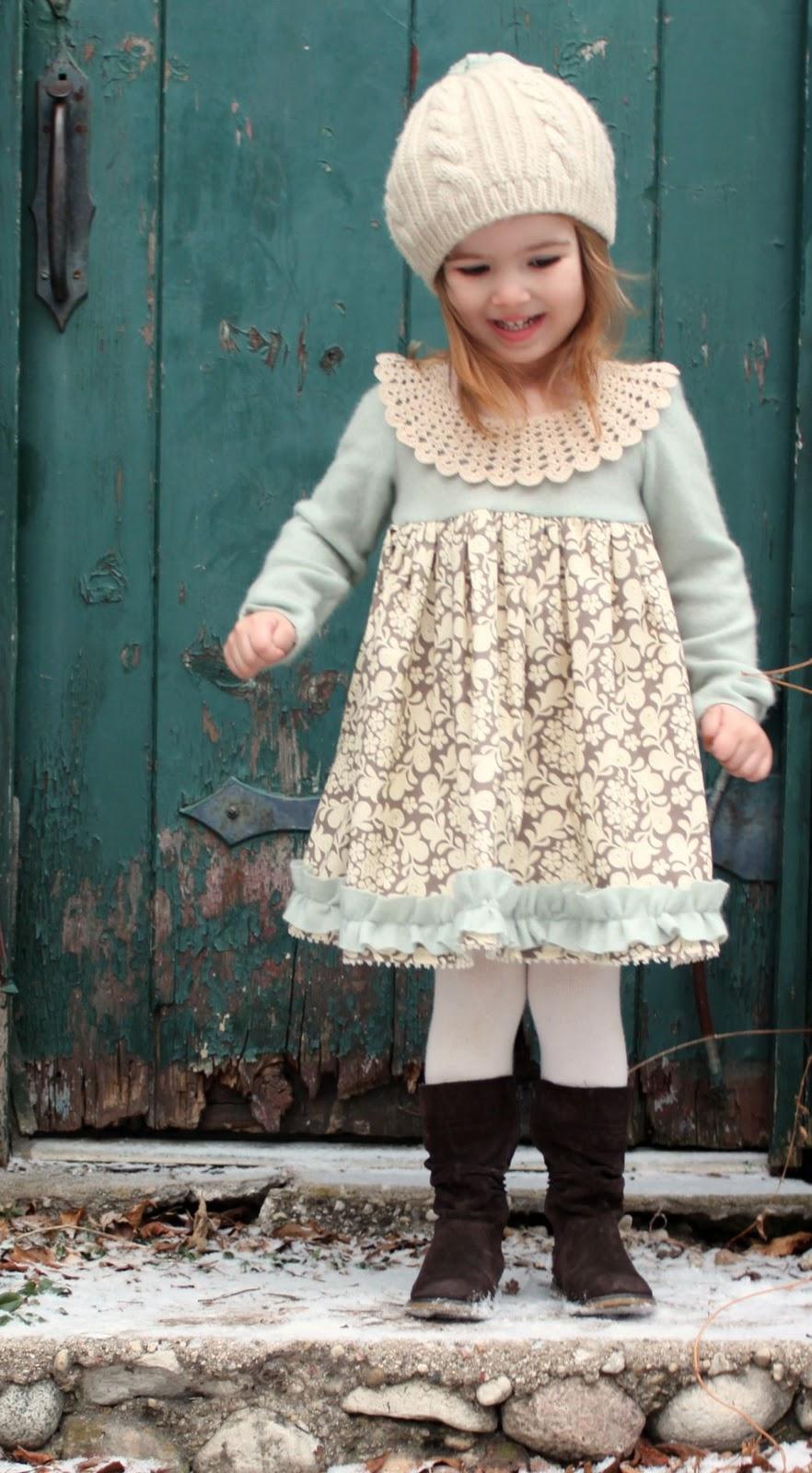 Winter Wonderland Dress Tutorial  The Cottage Mama
